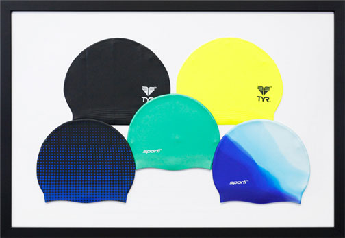 Framed Swim Caps